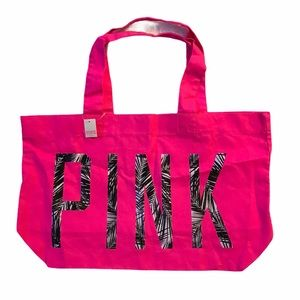 Pink tote bag/beach bag/gym bag